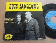 """DISQUE 45T DE LUIS MARIANO  """" DANS LE BLEU DU CIEL BLEU """""""
