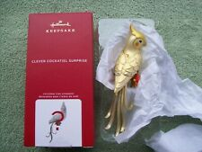 2020 Hallmark Clever Cockatiel Surprise Gold Edition (Yellow)