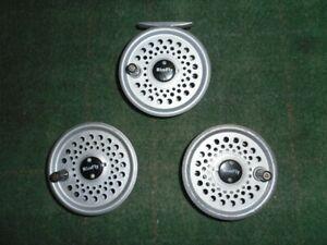 Leeda Rimfly reel + 2 spare spools , king size
