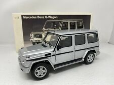1/18 Auto Art Mercedes Benz  G Wagon Silver 76102 READ ME