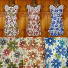 Scoop Neck Sleeveless Tops & Shirts Multicolor for Women