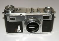 RARE 1936 MADE PRE-WAR Contax II Zeiss Ikon 35mm RF camera body EXC WORKING