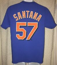 Johan Santana New York Mets Jersey T-Shirt Size Adult Medium by Majestic