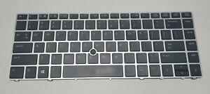 Genuine HP EliteBook Folio 9470M 9470 9480 9480M US Backlit Keyboard 697685-001