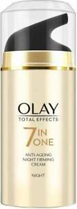 Olay Total Effect 7 In 1 Anti Ageing Night Skin Cream  (20 g) Free Shipping