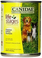 Canidae Canned Dog Food, Chicken and Rice Formula in Chicken Broth, 13-Ounce Can