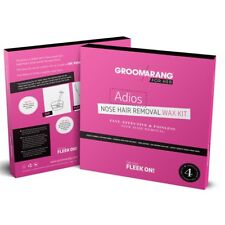Groomarang For Her - Adios Nose Hair Removal Wax Kit Fast Effective & Painless