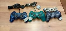 🌟OFFICIAL🌟Ps1 Ps2 Playstation Video Game 3 Controller Bundle🌟WORKING🌟dual🌟a