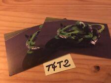 Kawasaki ZX-10R carte postale 10x15 lot de 2