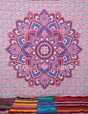 Indian Mandala Tapestry Decor Hippie Wall Hanging Large Throw Cotton Bedspread