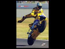 Rare MAX BIAGGI MotoGP Action Repsol Honda Motorcycle Racing Premium POSTER