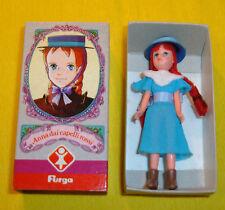 "ANNA CAPELLI ROSSI ANNE GREEN GABLES BAMBOLE FURGA 9cm/4"" blue ANIME FIGURE doll"