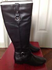 "BNIB - DIANA FERRARI ""OSLO"" black leather boots (size 5.5) RRP $239.95 - 60% off"
