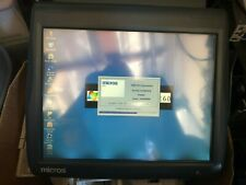 Micros Workstation 5a Pos Terminal Great Condition