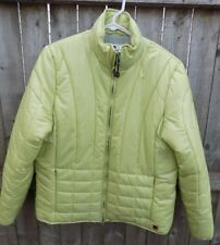 Woolrich Medium Puffer Coat Green Light Aloe Winter Spring Fall