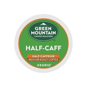 192 K-cups GREEN MOUNTAIN HALF-CAFF COFFEE MEDIUM ROAST