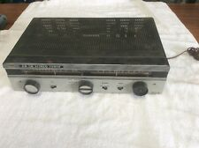 Vintage Kenwood TRIO AF - 220 Tube Tuner Receiver Parts Or Repair, Powers On