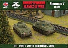 Flames of War BNIB Sherman V OFBX07