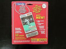 1992 Team NFL Dog Tags Pack of 4 Emmitt Smith on front Dallas Cowboys