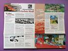 alter Folder Jochen Rindt Ausstellung Sekau, Formel 1 Gold Leaf Lotus72 Formel V