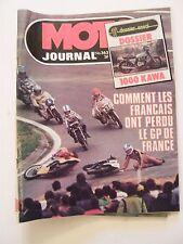Moto Journal Mai 1978 N°363 Comment les français ont perdu le GP de France