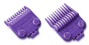 Andis #01420 Double Magnetic Nano Combs #1/2 & 1 1/2 Barber Clipper Guard 2 PACK