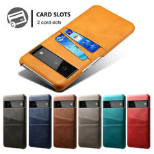 For Google Pixel 6 Pro 5 4A 5G Luxury Leather Card Holder Wallet Hard Case Cover