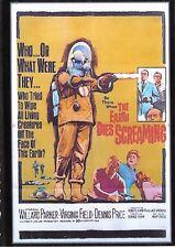 THE EARTH DIES SCREAMING D.V.D 1964