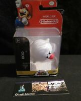 "Boo 2.5"" action figure World of Nintendo Super Mario Bros toy"