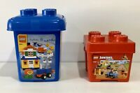 Empty Lego Storage Containers Medium Blue And Small Red