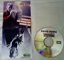 David Bowie Christiane F wir kinder bom zoo promo