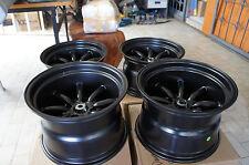 "JDM 15"" AE86 Datsun ta22 pcd114.3 Staggered wheels 240z wata-nabe style Z31 s31"