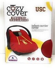 New Cozy Cover USC Trojans Red Infant Carrier Cover 705260877675 100% Polyester