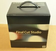 Apple Final Cut Studio Academic Pro 5 Soundtrack Motion 2 OG BOX Manuals