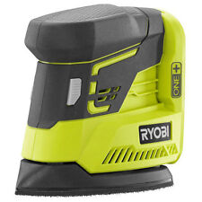 Ryobi 18V Cordless Corner Detail Cat Finish Palm Sander Hand Portable Power Tool