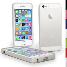 Claro brillante De TPU para Apple iPhone 5 5S se Teléfono Móvil 4G LTE Piel Cubierta