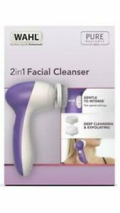 Wahl 2 in 1 Facial Face Cleansing Brush Beauty Cleanser New In Box