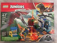 NEW Lego Juniors Jurassic World 10756 Pteranadon Escape 84 Pc Building Toy Set