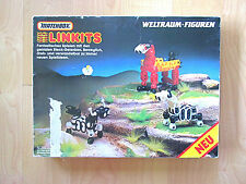 Vtg Matchbox Linkits German toy building set Weltraum-Figuren