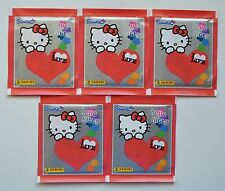 Panini HELLO KITTY * I LOVE LIFE 2013 * 5 pochettes 25 stickers-NEUF emballage d'origine
