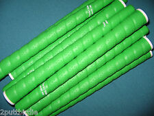 "13 NEON Lime Green Tacki Mac JUMBO +1/8"" Oversize Tour Plus Wrap Golf Club Grips"
