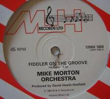 """MIKE MORTON ORCHESTRA Fiddler Of The Groove 12"""" Single"""