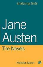 Jane Austen: The Novels (Analysing Texts)-ExLibrary