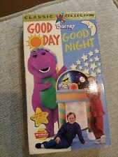 Barney - Good Day, Good Night (VHS, 1997)