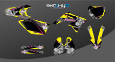 KIT ADESIVI GRAFICHE JAPAN BLACK SUZUKI RMZ 250 dal 2010 al 2017 DECALS DEKOR