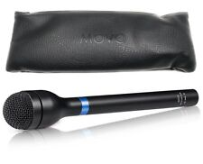 Movo HM-M2 Dynamic Omnidirectional Handheld XLR Reporter / Interview Microphone