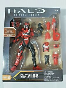 Spartan Locus Figure HALO Universe Series Red Mjolinir Argus Armor UNSC NEW