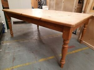 Large Farmhouse table Antique Pine 6ft  X 4Ft  183cm x 122cm