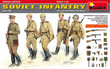 Miniart 1/35 Soviet Infantry Special Edition (New Weapons) # 35108