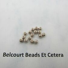 20 Sterling Silver 4mm Seamless Beads Highly Polished Round Beads Seamless